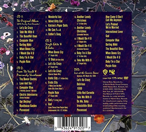 Purple Rain Deluxe (Expanded Edition)(3CD/1DVD) by Warner Bros. (Image #1)
