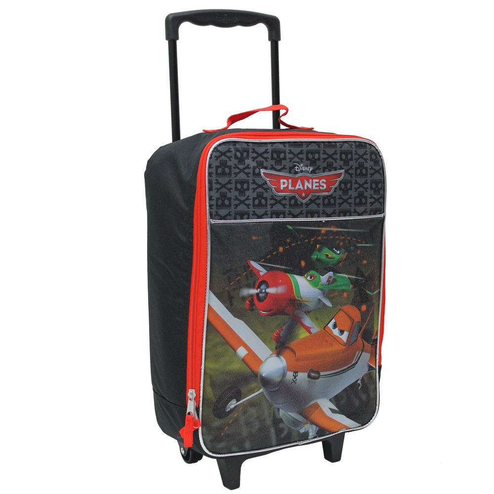 Disney Planes 16'' Dusty Own The Sky Pilot Case Brand New Red Black Large Luggage