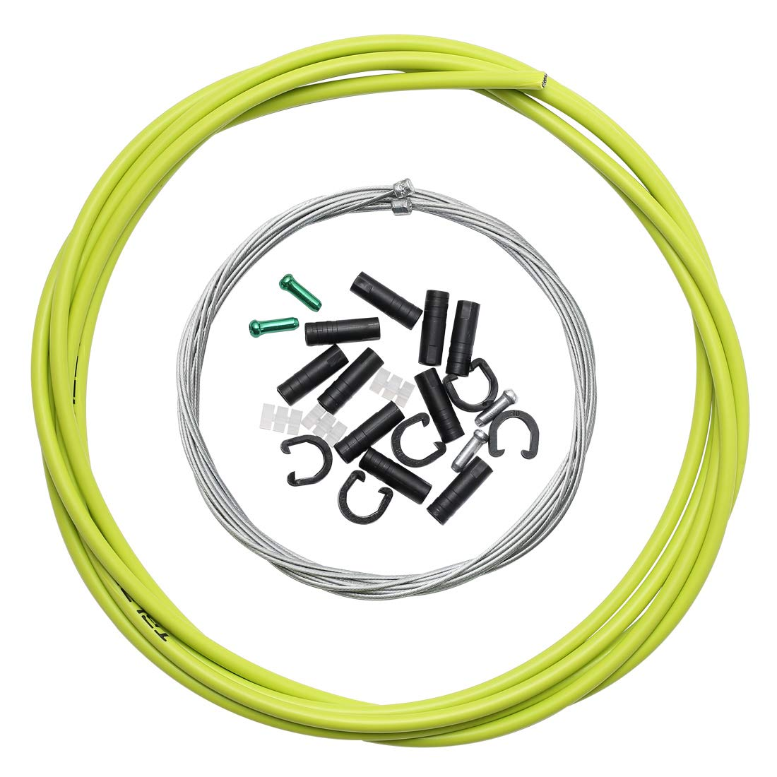 Dymoece Universal Bicycle Shifter Cable Housing Bike Derailleur Cable Hose Kit for Shimano Sram MTB Road Bike
