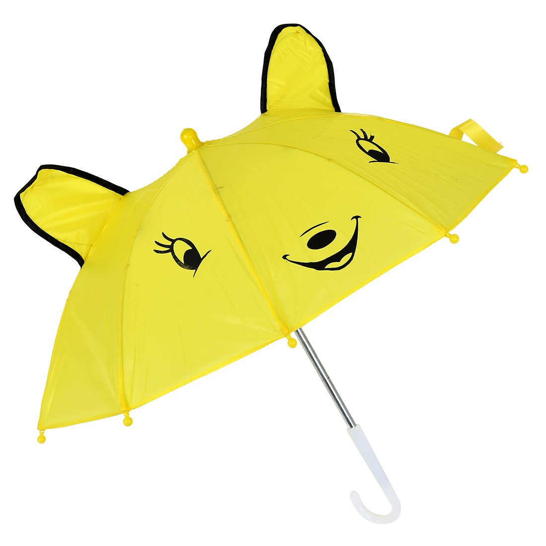 Vaorwne Parapluie de Forme de Panda Jaune pour Les Enfants