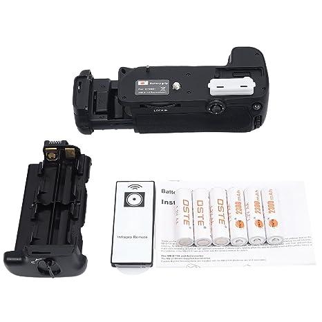 DSTE® Remoto empuñadura de batería Compatible con cámara réflex ...