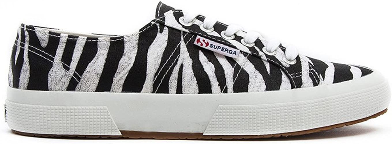Superga 2752 Animal Prints Zebra Womens