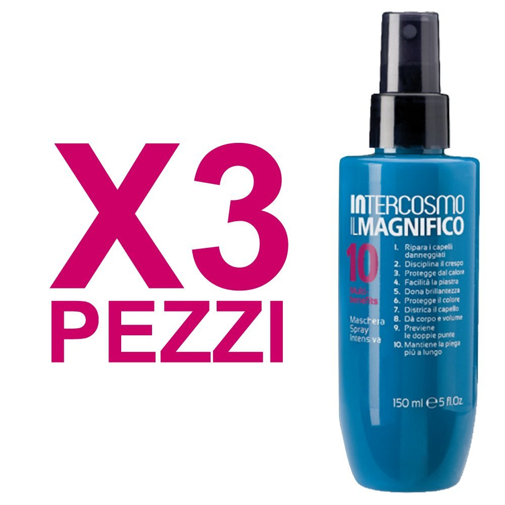 INTERCOSMO Il Magnifico 10 Maschera Spray Intensiva 150ml (3 PEZZI) 80434433e23b