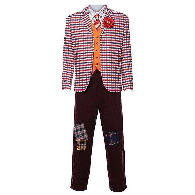 Joker Traje Halloween 2019 Cosplay Camisa roja Chaleco ...