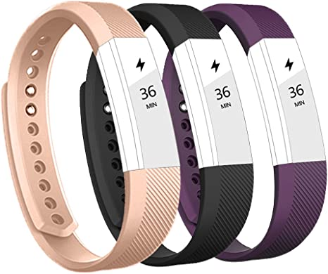for Fitbit Alta HR and Alta Band Vancle Classic Accessory Band Replacement Wristband for Fitbit Alta HR 2017//Fitbit Alta 2016