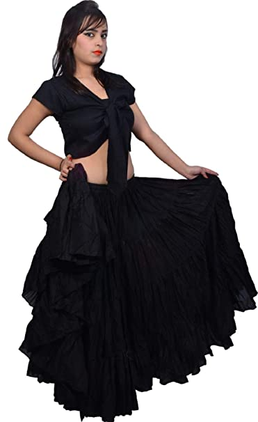 Dancers World Ltd (UK Seller) 2pc Negro 25 Yarda Yardas Tribal ...