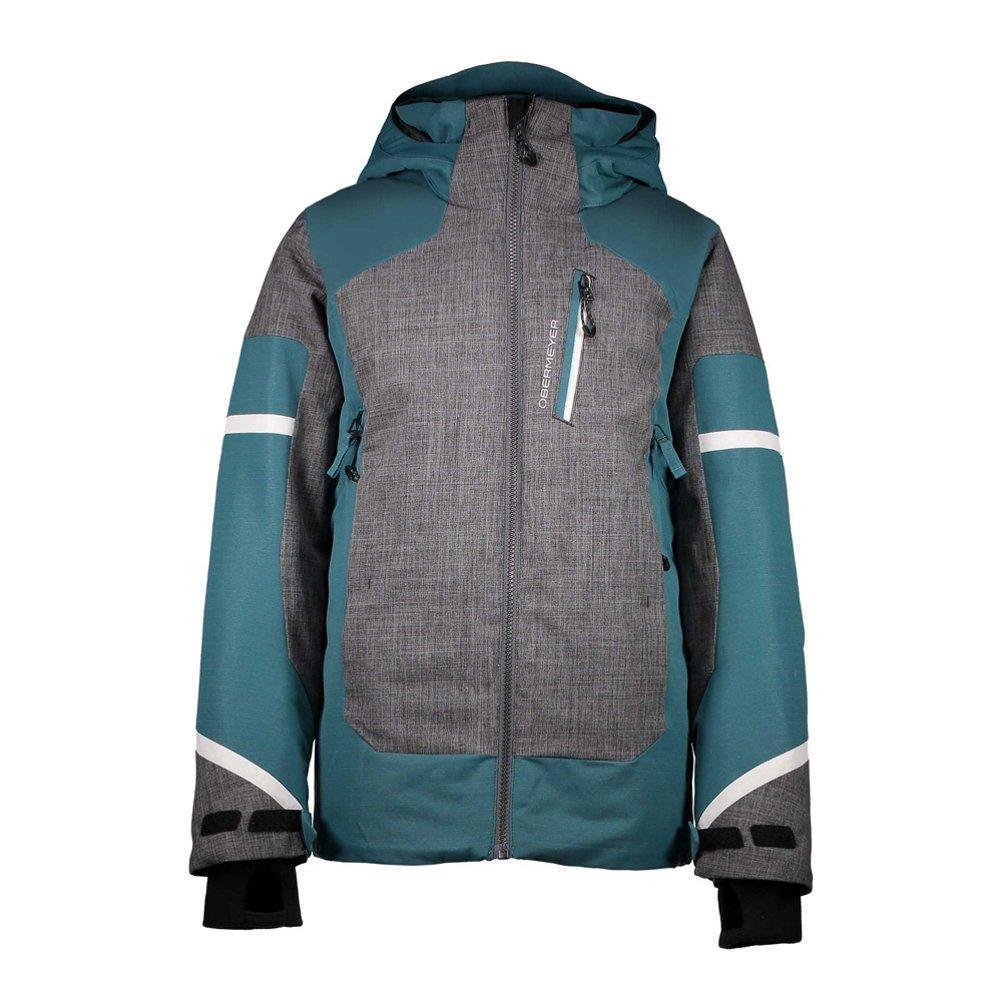 Obermeyer Kids Boy's Outland Jacket (Little Kids/Big Kids) Deep Pacific Large 41042-17168-L