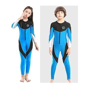 Amazon.com: ZCCO - Bañador de manga larga para niños y niñas ...
