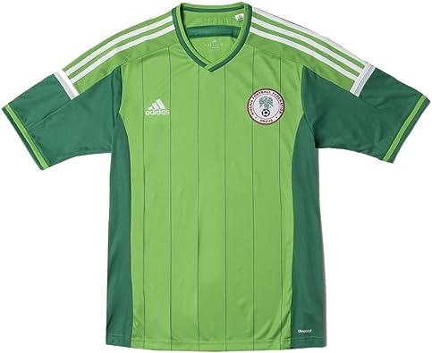 adidas New Mens 2014 Nigeria Soccer Jersey: Amazon.es: Zapatos y ...