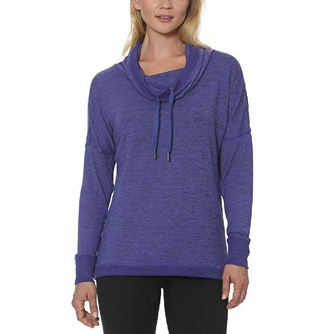Image Unavailable. Image not available for. Color  Gerry Ladies Cowl Neck  Pullover ... 70a36198e