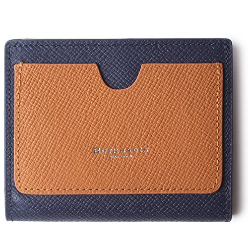 Borgasets Women's RFID Blocking Small Compact Bifold Leather Pocket Wallet Ladies Mini Purse with id Window Blue by Borgasets (Image #1)