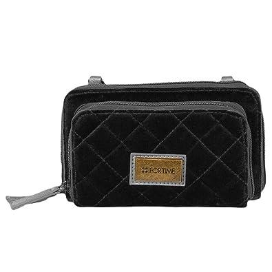 6fb792096 For Time Cartera Mano Negra Women's Top-Handle Bag, Black (Negro ...