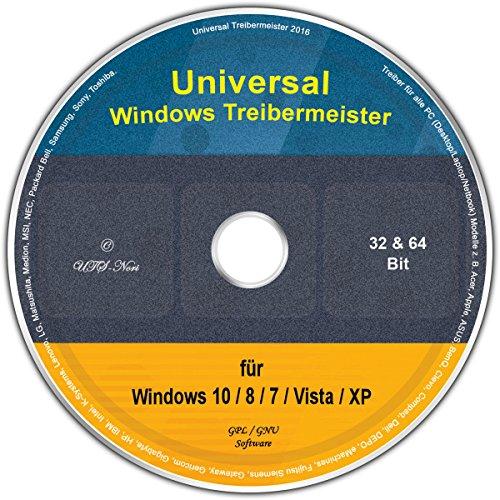 Universal Treiber-Meister für Windows 8 / 7 / Vista / XP (32 & 64 Bit)