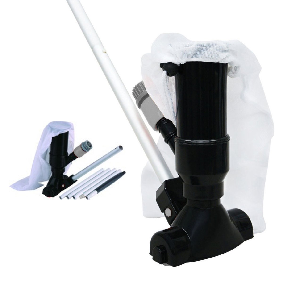 Swimming Pool Jet Vacuum Cleaner With Pole Vac Hoover Clean Maintenance Cleaning Suction Spa Hydroswim