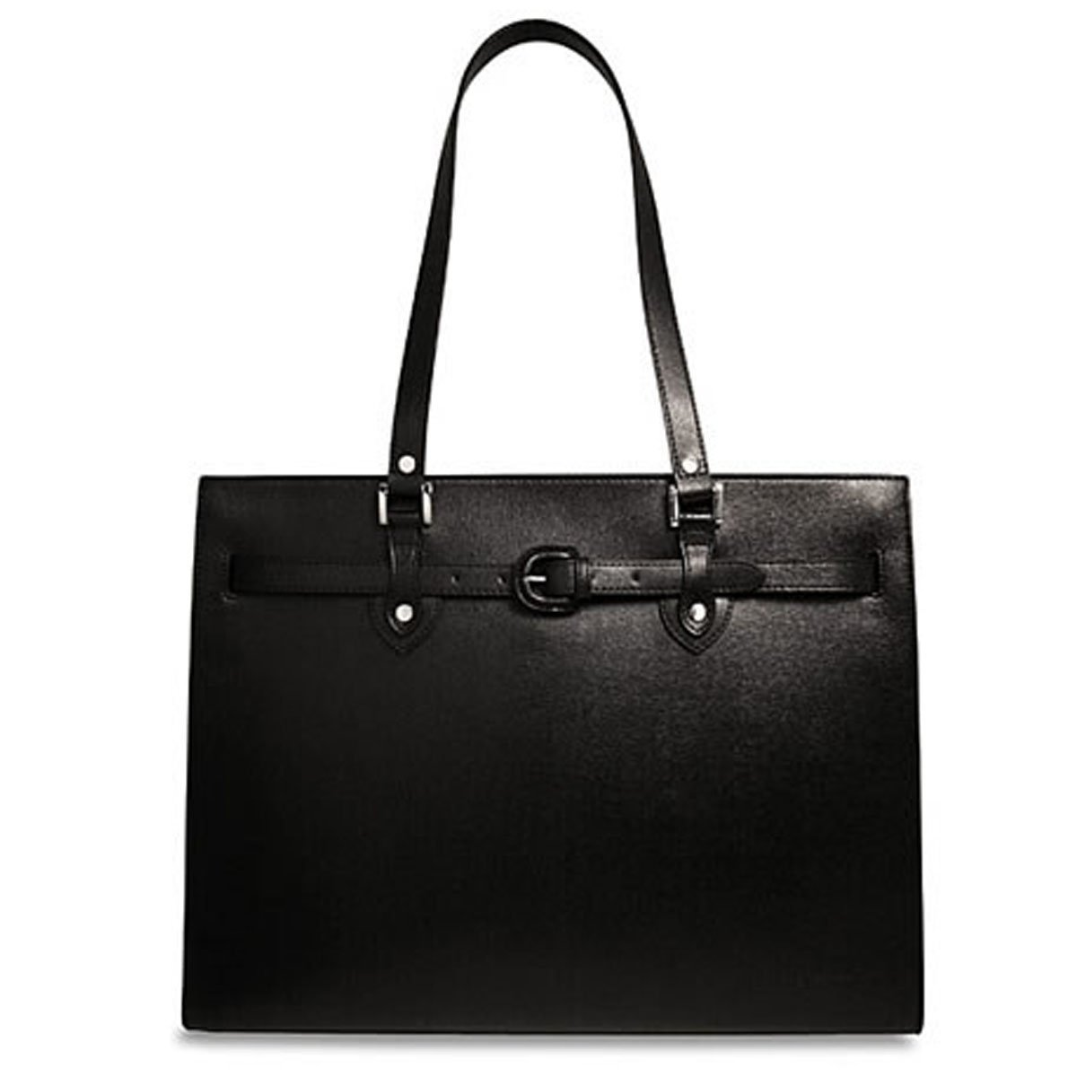 Jack Georges Chelsea Alexis Business Tote Bag 5886 (BLACK) by Jack Georges