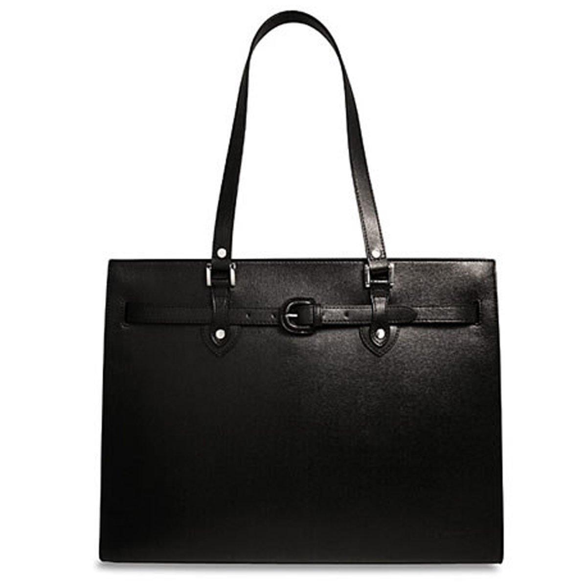 Jack Georges Chelsea Alexis Business Tote Bag 5886 (BLACK)