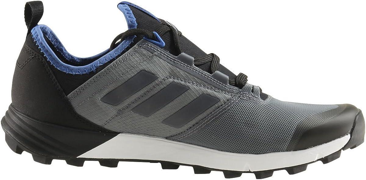 Por encima de la cabeza y el hombro excursionismo Instruir  Amazon.com | adidas Men's Terrex Speed, Vista Grey/Vista Grey/Core Blue,  11.5 D US | Trail Running