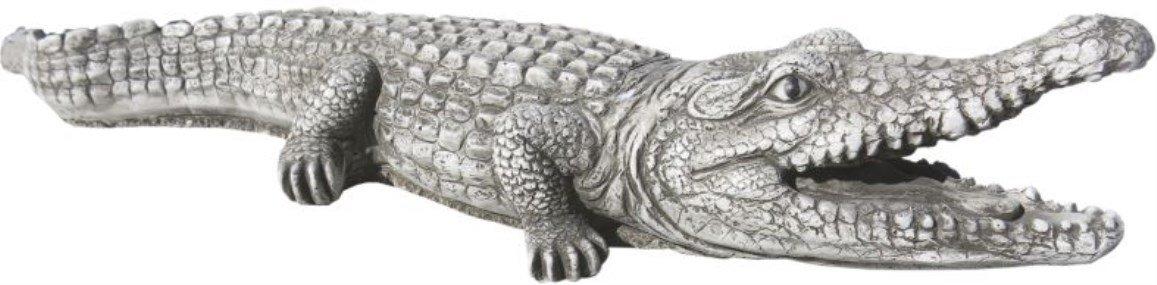 AnaParra Figura COCODRILO 71cm,Natural Musgo