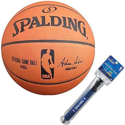 Spalding NBA – Balón oficial Juego Baloncesto: Amazon.es: Hogar