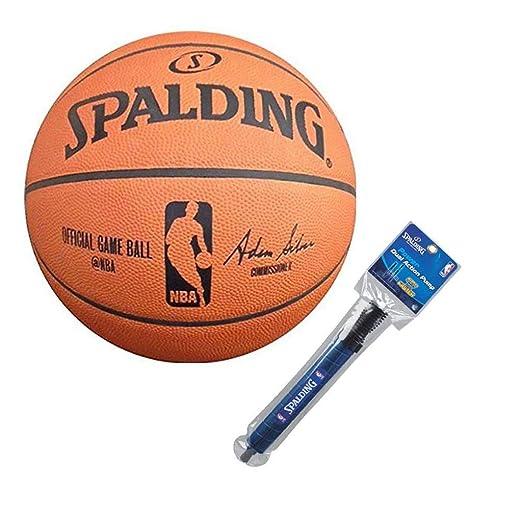 Spalding NBA - Balón oficial Juego Baloncesto: Amazon.es: Hogar
