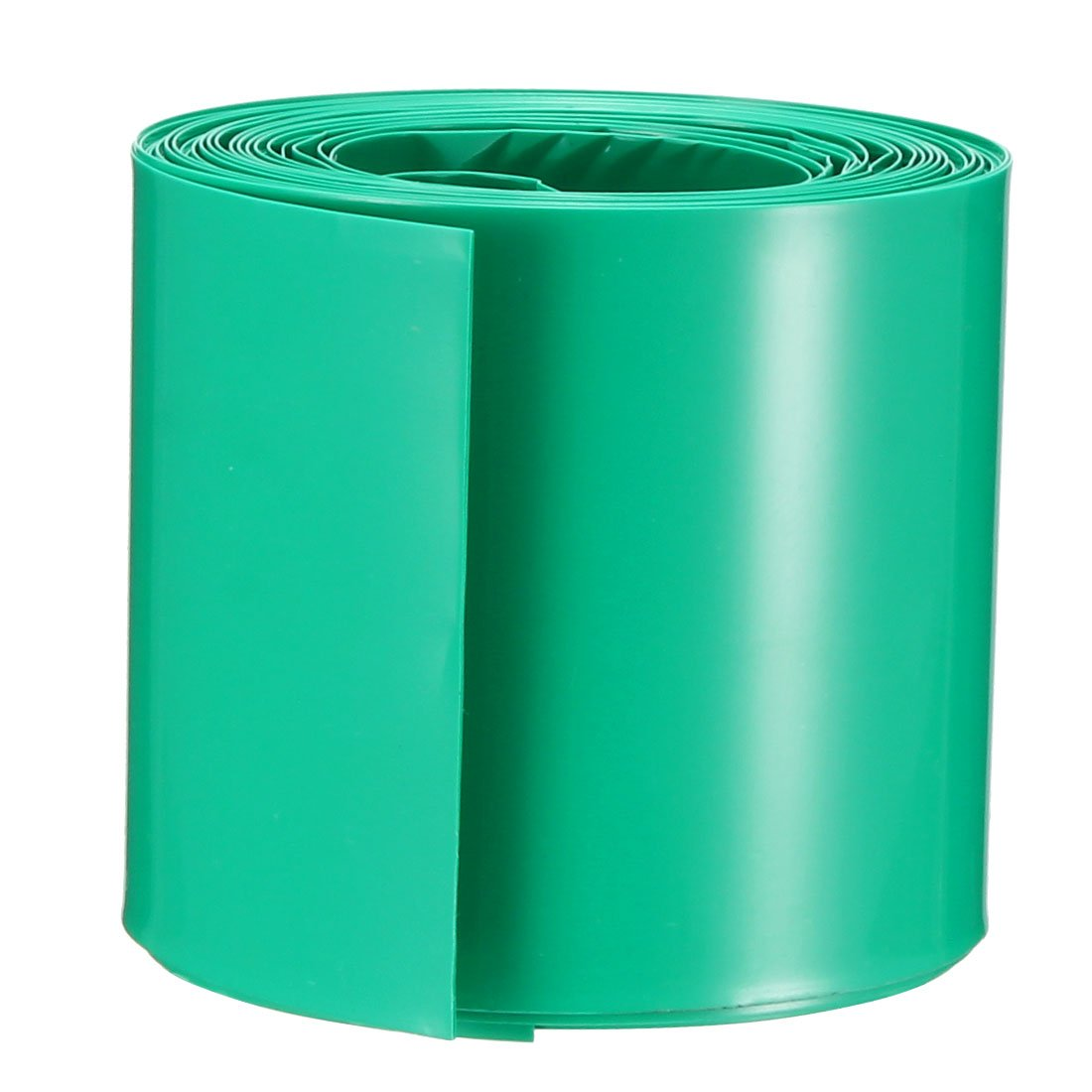 sourcing map 20pcs 18.5mm Dia PVC Thermor/étractables Tube bleu pour 1 x 18650//18500 Batterie