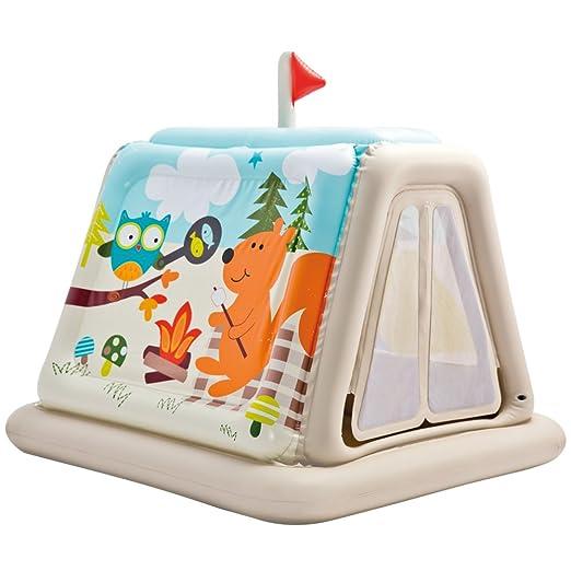 33 opinioni per Intex 48634np- Casetta Gonfiabile Campeggio, 127 x 112 x 116 cm, Multicolore