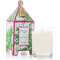 Seda France Classic Toile Pagoda Box Candle, Citron Du Sud, 10.2 Ounce