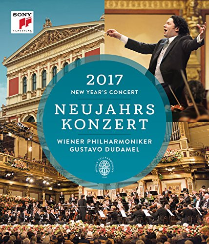 Blu-ray : Neujahrskonzert / New Year's Concert 2017 (Blu-ray)
