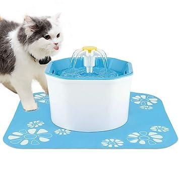 Amazon.com: PingPIN Fuente de Agua para Gato, Fuente de ...