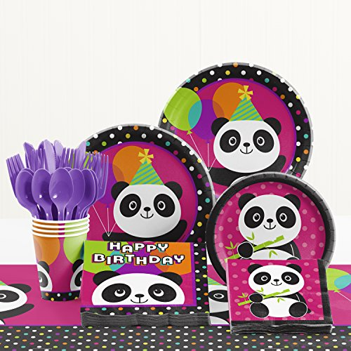 Panda Birthday Party Supplies Kit (Panda Themed Party)