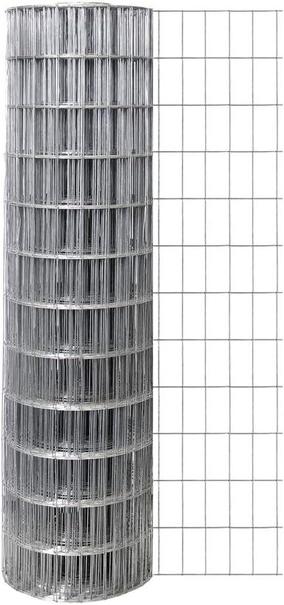 Origin Point Garden Zone 48 Inches x 100 Feet 14-Gauge Welded Wire with 2 x 4-Inch Openings - 214800