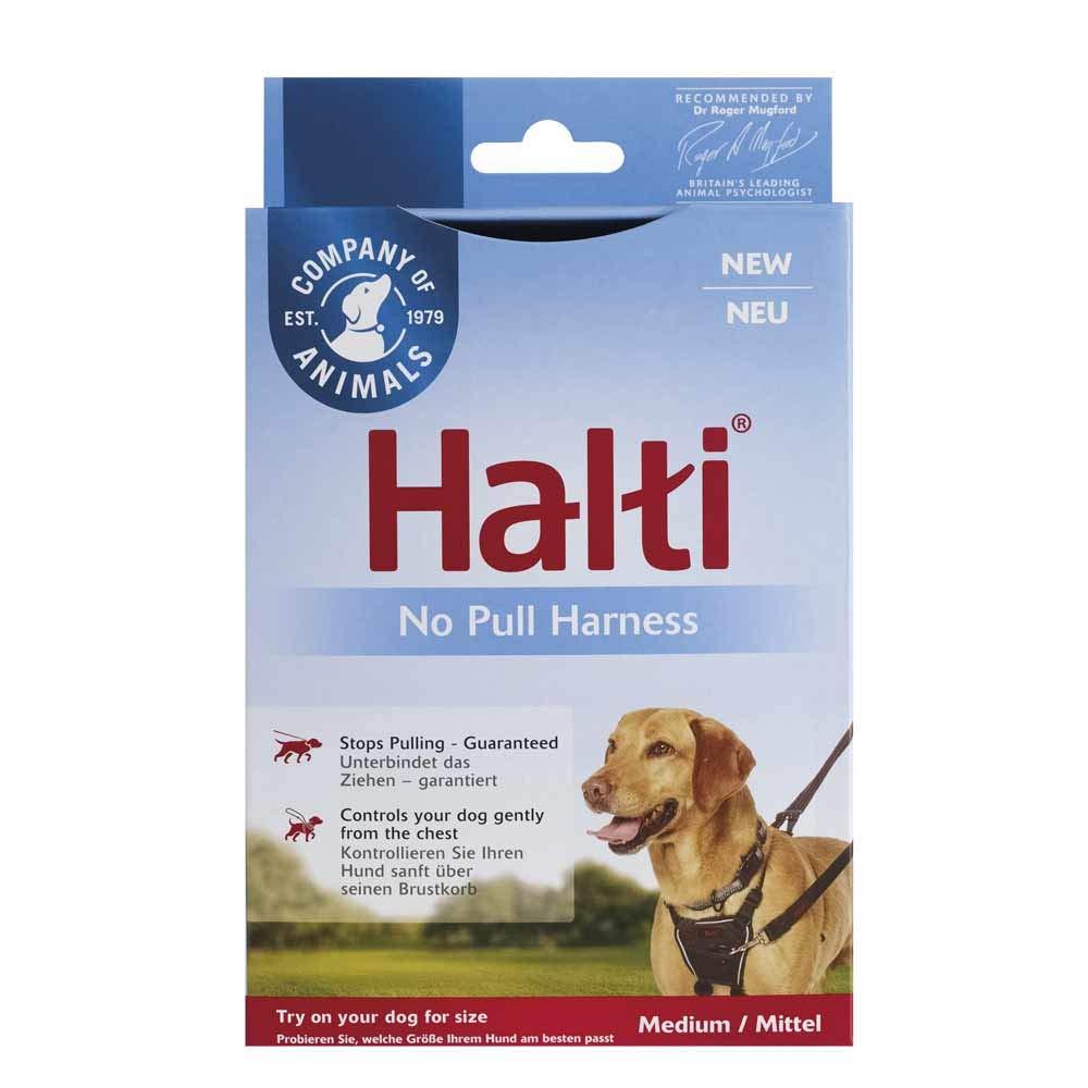 Company of Animals - Halti No Pull Harness, Black, Size Medium