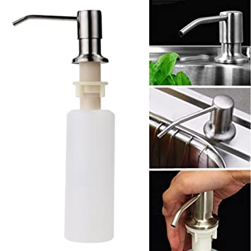 Easybuy India 1pcs Kitchen Sink Soap Dispenser Stainless