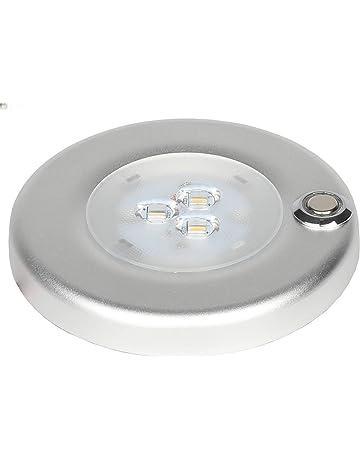 Facon Soporte de superficie LED de 12 V 3 W con interruptor de encendido y apagado