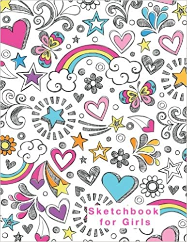 blank sketchbook for kids girls and boys 85x11 full size drawing journal 120 pages blank drawing journals for kids volume 3