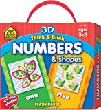 Think and Blink Numbers and Shapes, School Zone Publishing Company Staff, 1601591020