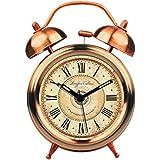 Ladyclare(レディクレア) 目覚まし時計 アンティーク 時計 おしゃれ 大音量 アナログ レトロ 寝室 リビング 【正規品】