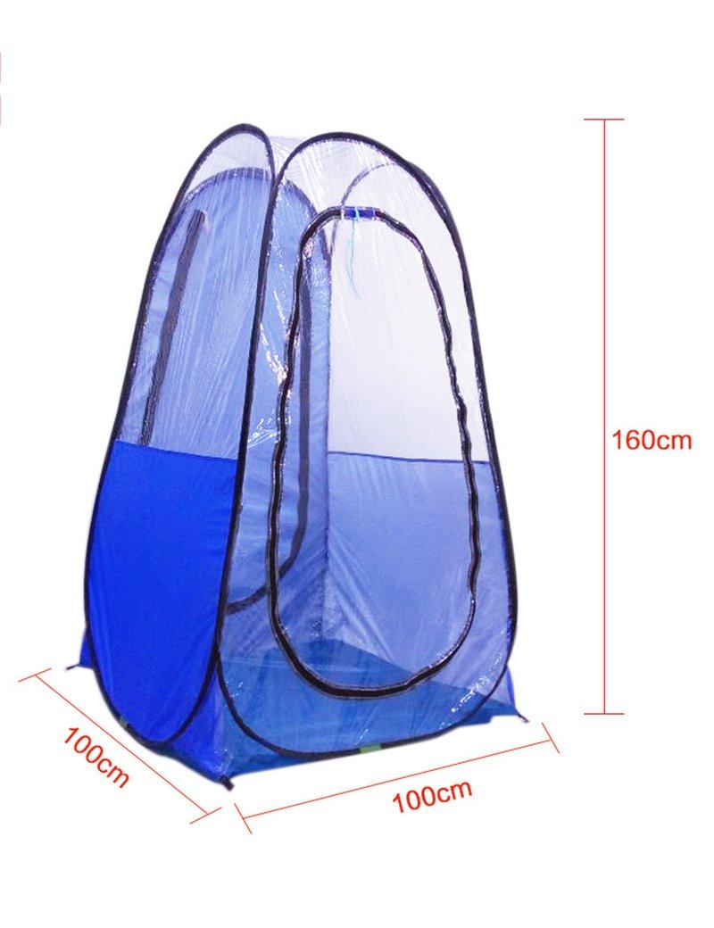Hochwertiges Zelt - Einzelne Angeln Zelt windundurchlässig Regen im Freien Angeln Geschwindigkeit geöffnet Licht Leicht zu tragen Zelt --Outdoor Reisebequemlichkeit Zelt
