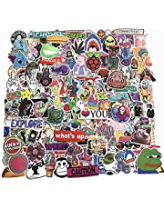 200-Pcs PVC Stickers Vinyl Laptop Car Decals Waterproof Sunlight-Proof Durable for Cars Motorbikes Luggage Skateboard Decor