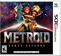 Metroid: Samus Returns - Nintendo 3DS: Video     - Amazon com