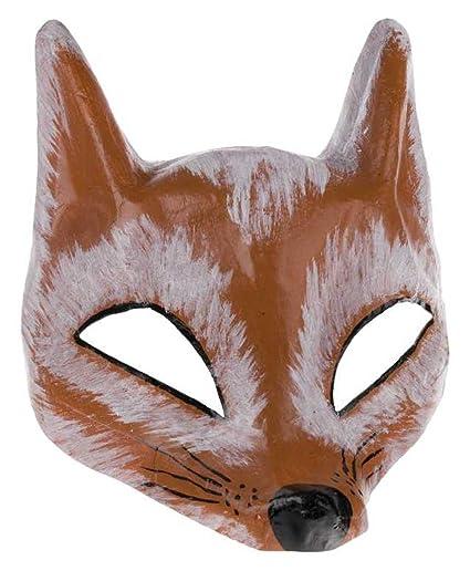 Zorro Media máscara Theater Máscara de Cartón
