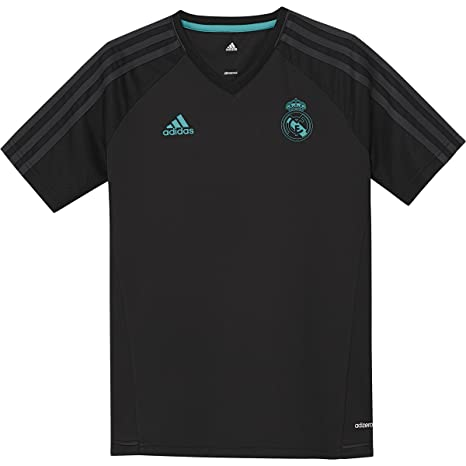 322c2f19d92 Amazon.com : adidas Kid's Real Madrid Training Soccer Jersey ...