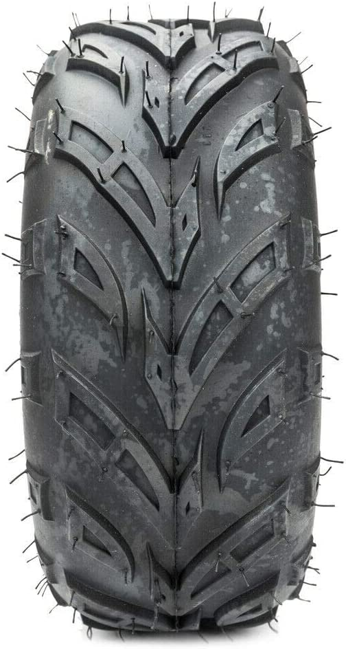 MILLION PARTS 1PCS ATV Go Kart Tubeless Tires 145//70-6 4PR P361 Black