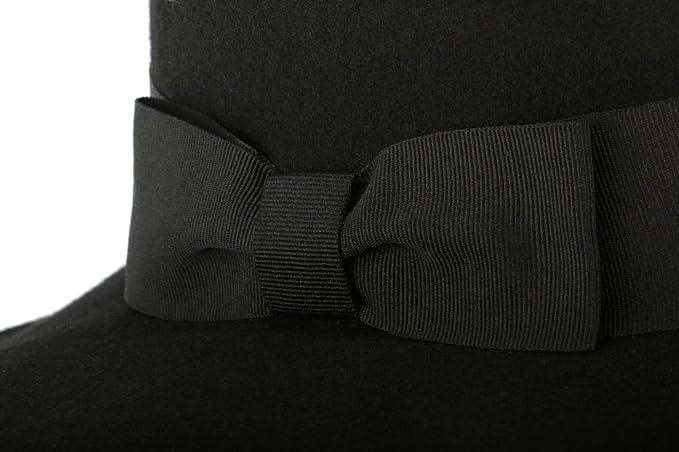 Gran sombrero negro mujer Ségur Léon Montane - Mujer negro Talla única    Amazon.es  Ropa y accesorios 14aaf0ca21e