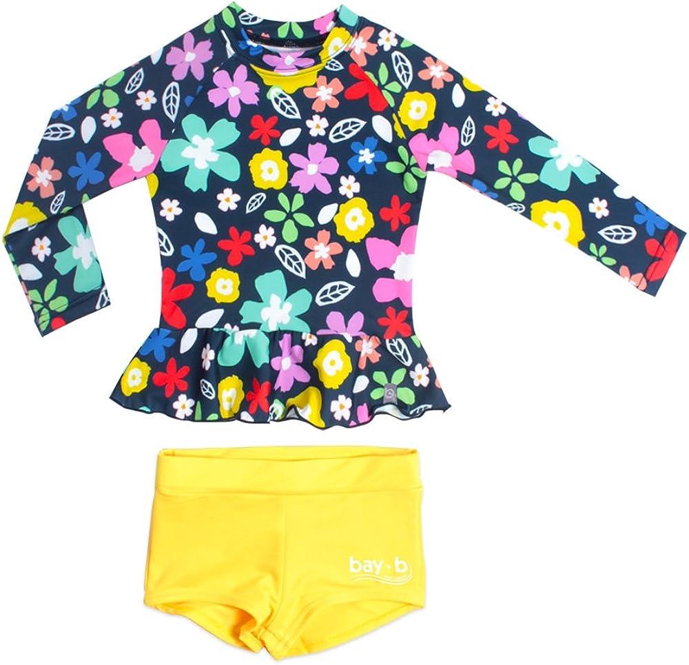 Rash Guard Swim Pants BAY-B Girls Swimming Bottom Leggings UPF50