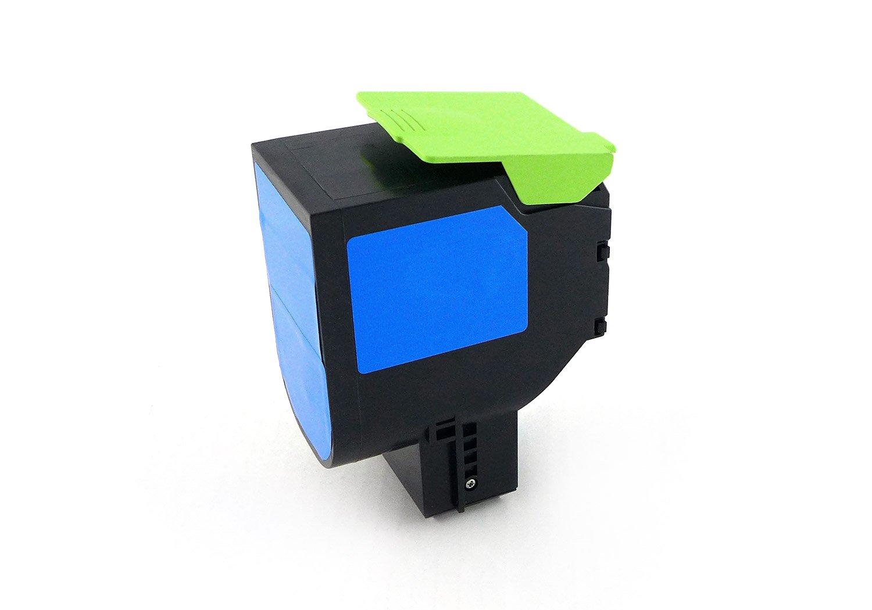 Green2Print Toner Giallo, 2300 Pagine, sostituisce Lexmark 71B0040, 71B20Y0, Toner per Lexmark CX317DN, CX417DE, CX517DE, CS317DN, CS417DN, CS517DE G2P12808