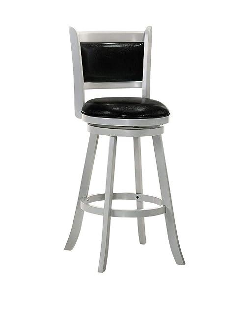 Amazoncom Belle Isle Furniture Charleston 24 Swivel Bar Stool