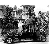 #8: The Munsters 8 X 10 Cast Photo Herman, Lily, Grandpa, Eddie & Marilyn Munster in/on Car Pose 1 kn