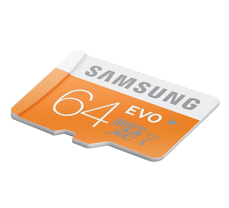 Samsung 64GB Plus Micro SD XC Memory Card Class 10 UHS-I 64 GB ...