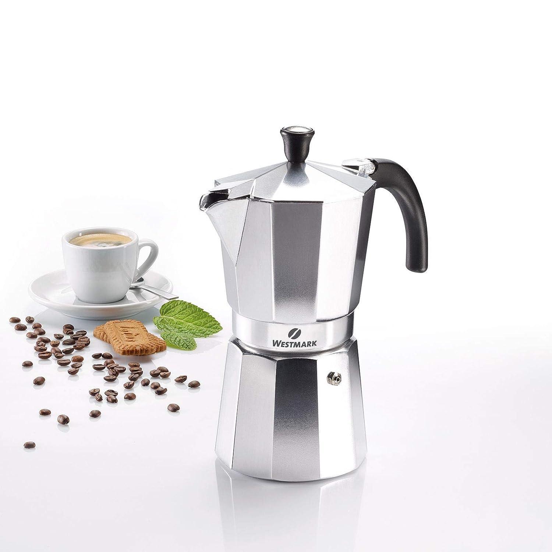 Westmark 24642260 Brasilia - Cafetera italiana (9 tazas, aluminio ...